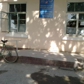 "Clinic of Sayhonobod district, ""All went to the cotton"""