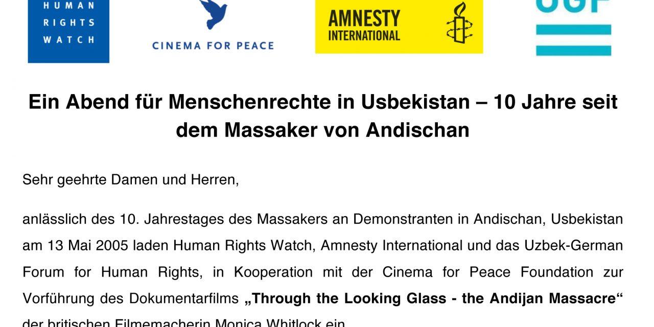 An Evening on Human Rights in Uzbekistan