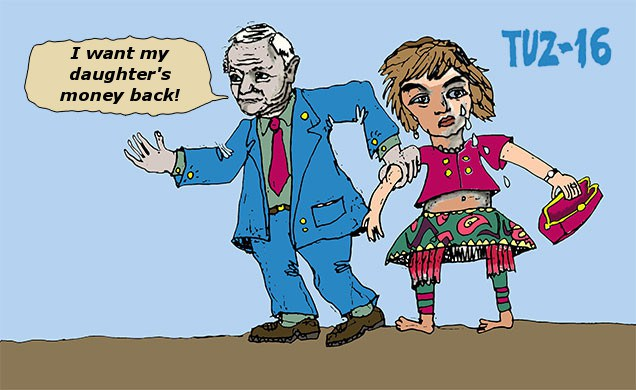 I Want My Daughters Money Back by Eltuz