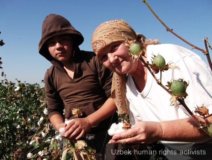Uzbek HR activists