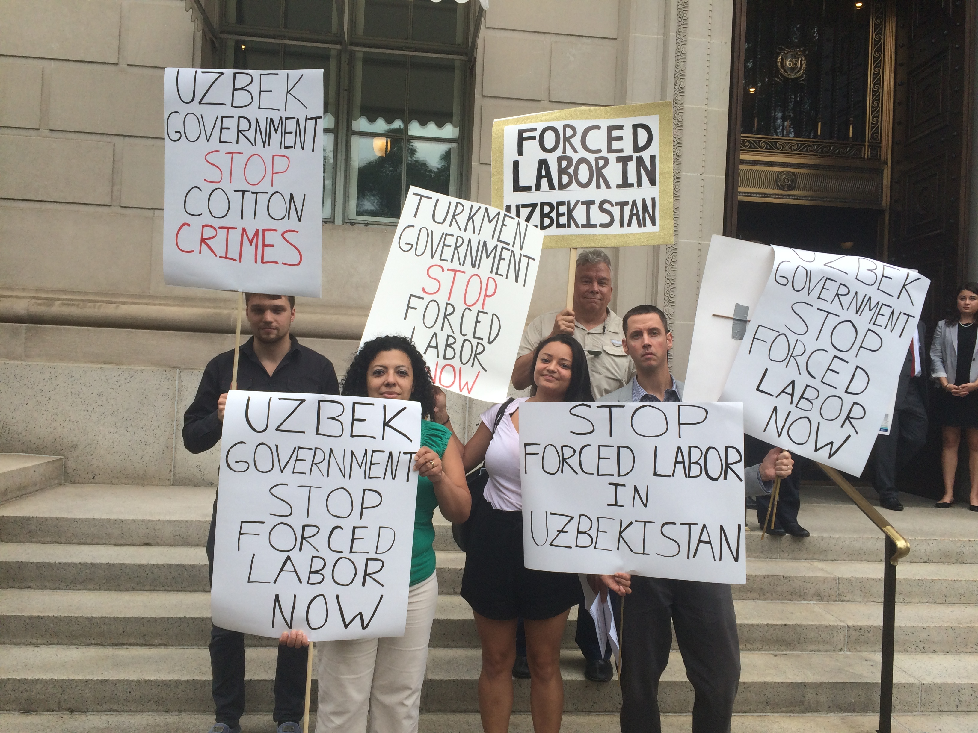 Protest Campaign at the U.S. Chamber of Commerce