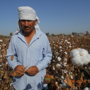 Medical workers from Dustabad on the cotton fields © UGF 2016