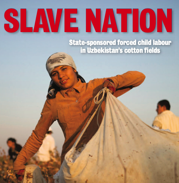 State-sponsored forced child labour in Uzbekistan's cotton fields